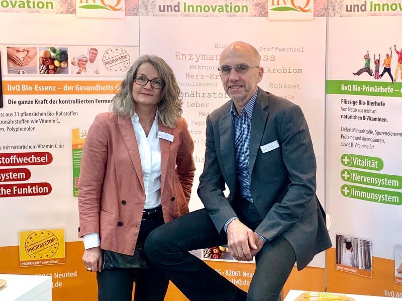 Renate Ladner und Werner Schuegraf, Gründer der livQ AG
