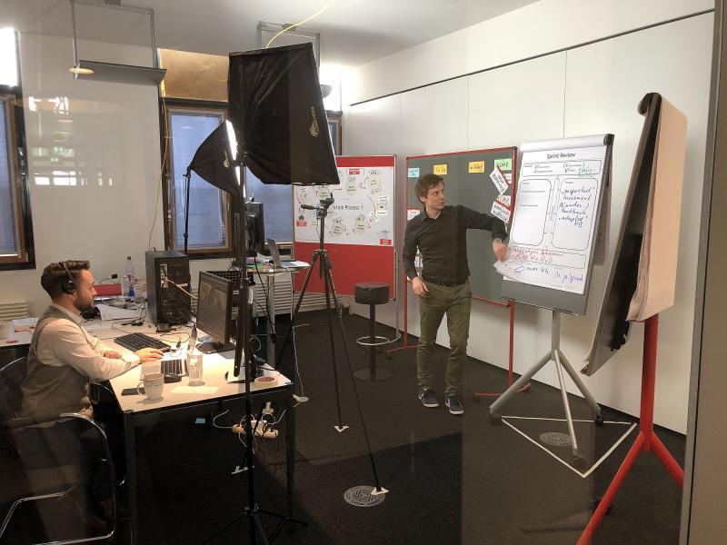 Virtueller Trainingsraum bei der Maxpert GmbH