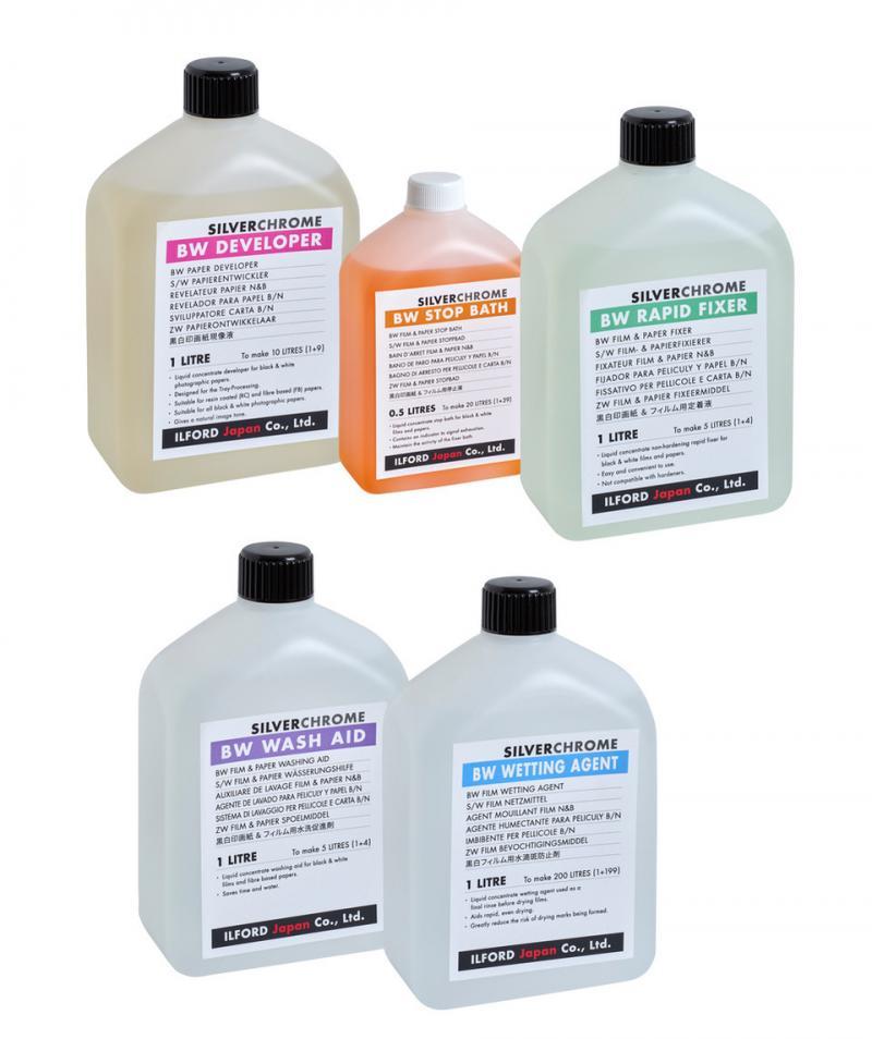 ILFORD Japan erweitert sein Portfolio um Schwarzweiss-Chemikalien für den Papier-Prozess.