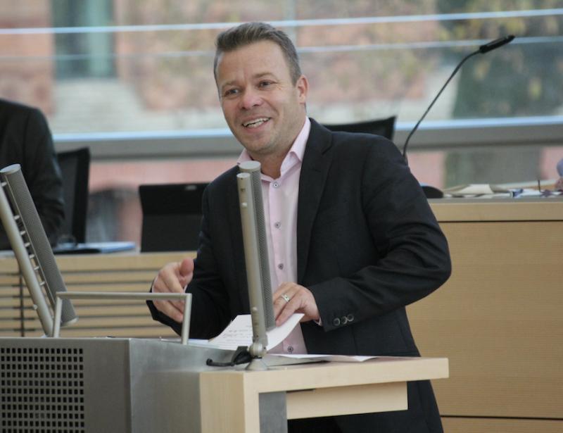 Dr. Frank Brodehl, bildungspolitischer Sprecher der AfD-Fraktion im Schleswig-Holsteinischen Landtag