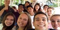 Schüleraustausch USA: Schüler*innen in Kalifornien (Foto: Stiftung Völkerverständigung)