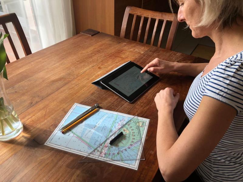 Ausbildung zum Sportbootführerschein via Webinar zu Hause
