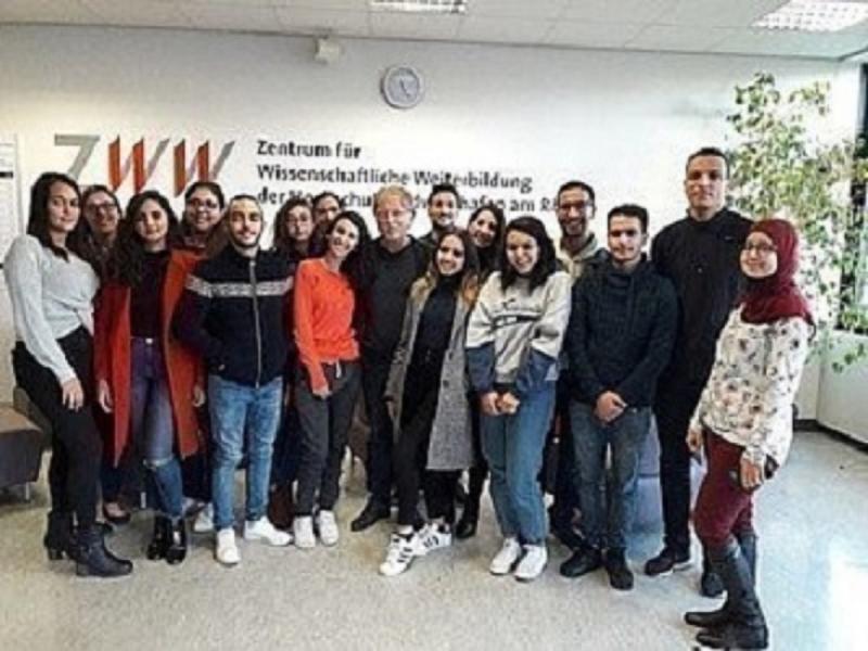 Internationale Studierende an der HWG Ludwigshafen