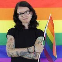 Linda Wirth - Pride - CSD Stuttgart - Pressefoto 2020 - Fotocredit Linda Wirth