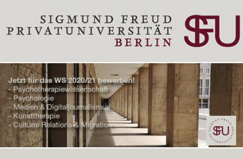 Jetzt landen: Sigmund Freud PrivatUniversität SFU Berlin am THF