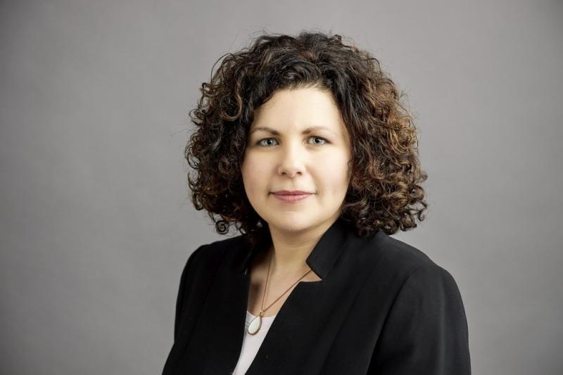 Amira Mohamed Ali, Vorsitzende der Fraktion DIE LINKE im Bundestag