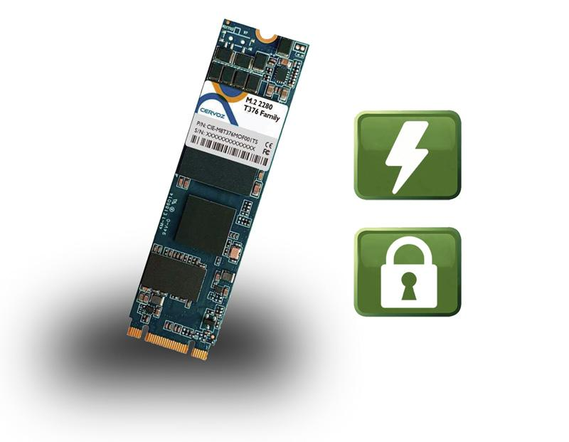 3D TLC NAND M.2 Solid State Disk Serie mit Power Loss Protection