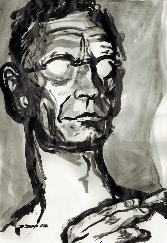 Hermann Hesse, Portrait von Nikolaus Pessler